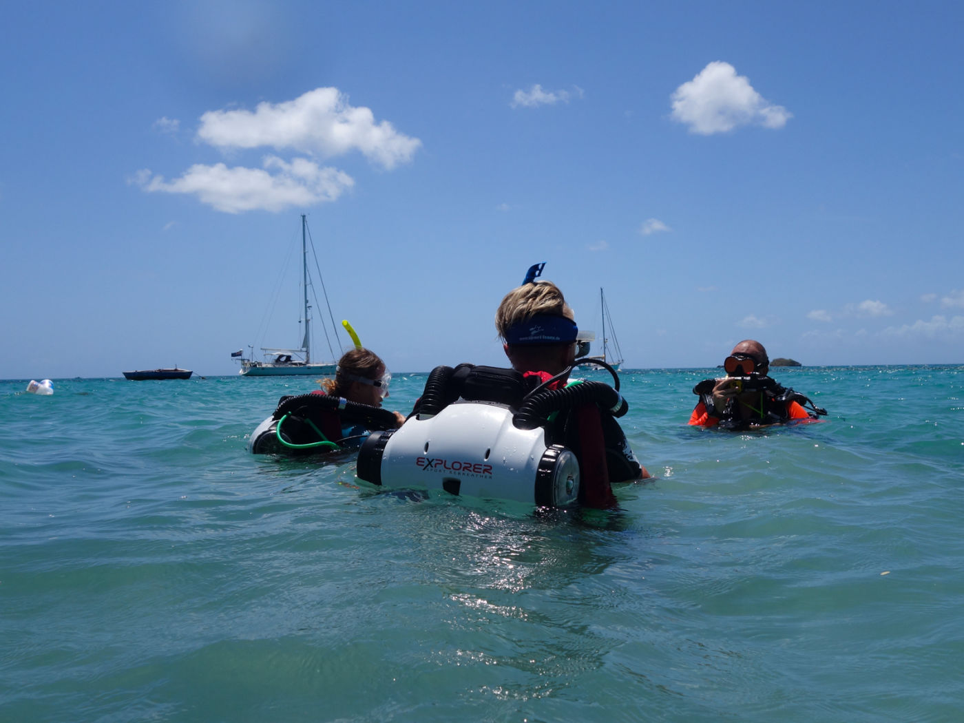CCR Try Dive Carriacou Grenada